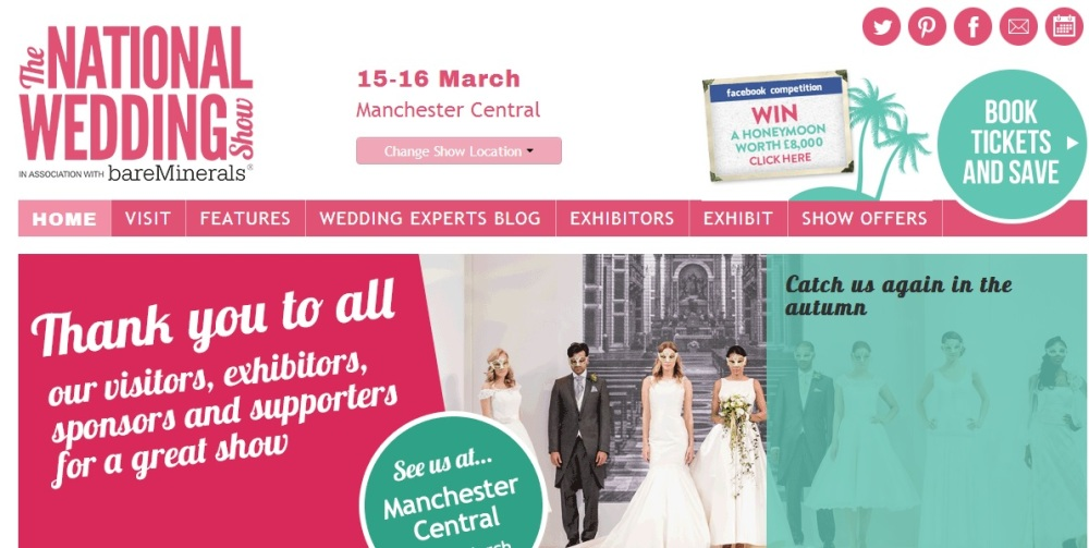 National Wedding Show in Manchester