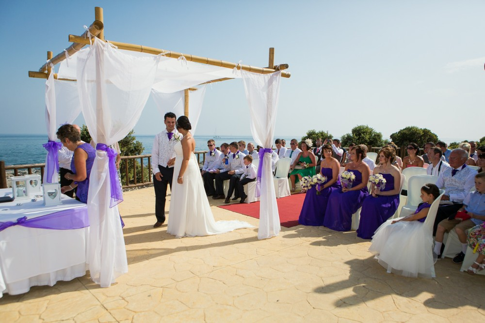 Ceremony on the seafront