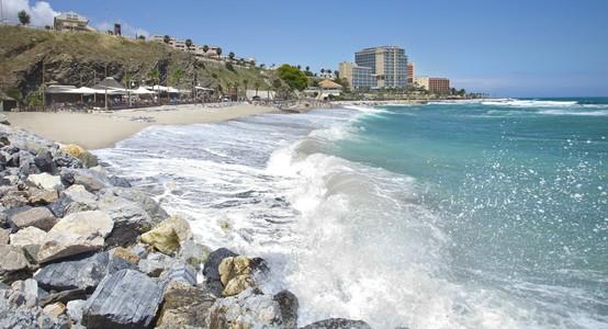 Location of Luna Beach Club