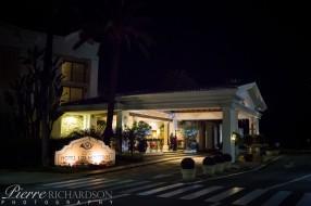 Entrance to Los Monteros Hotel