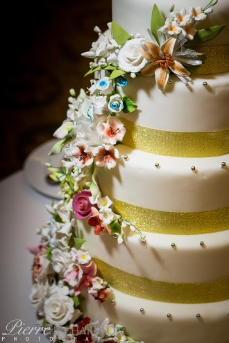 Hotel Wedding Cake