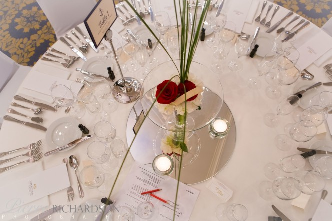 Wedding table centre