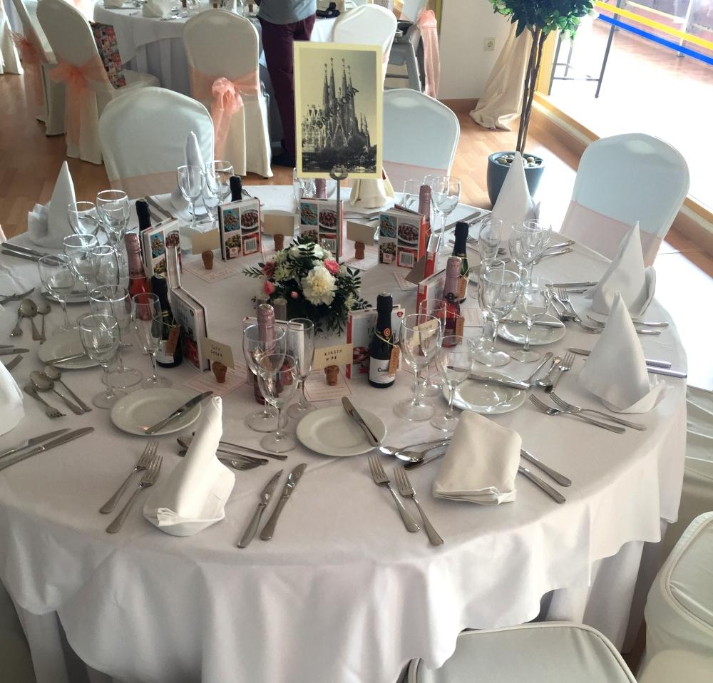 Barcelona Wedding Table