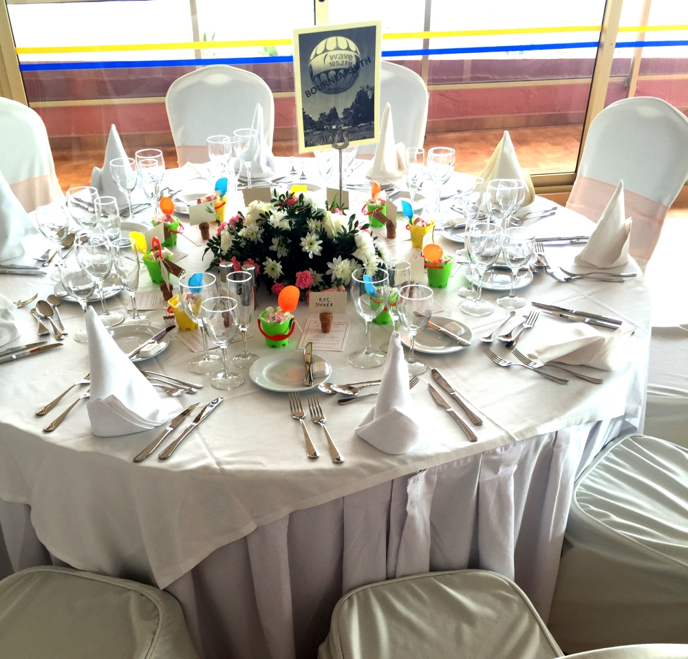 Bournemouth Wedding Table