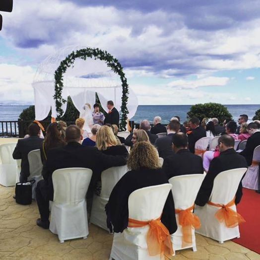 February Wedding Ceremony