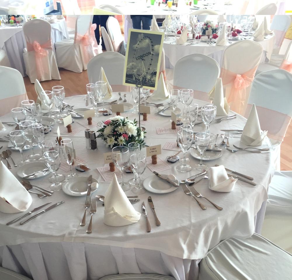 London Wedding Table