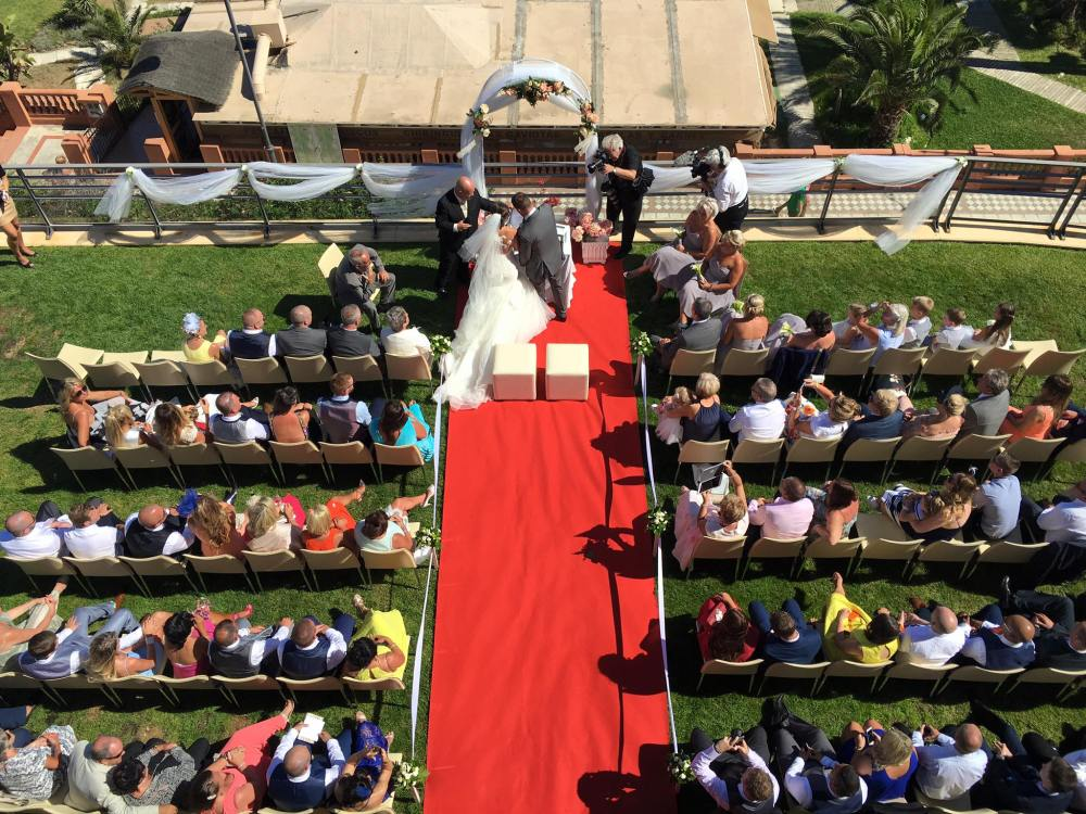 Wedding Blessing at Vincci Aleysa Benalmadena