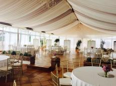 Main salon Wedding setup
