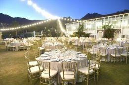 Moonlight dinner at Finca Dulzura