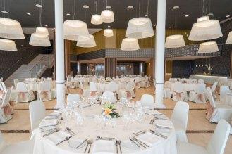 Inside of Banquet suite
