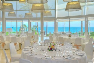 Sea views from Wedding reception room