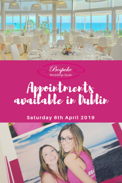 Wedding Appointments in Dublin April 2019